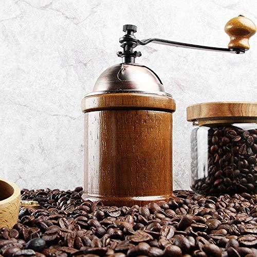 WCJ koffiemolen, roestvrij staal, multifunctioneel, keramiek, gemakkelijk te reinigen, voor huis/reis/kantoor/keuken of camping