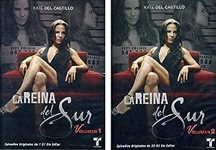 La Reina Del Sur: Serie de Telenovelas Temporada 1 Volumen 1-2 (Complete Season 1 Volumes 1-2)
