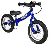 Bicicleta sin pedales Bikestar EDICIÓN DEPORTIVA 12 - con soporte lateral y freno VARIOS COLORES/DISEÑOS -