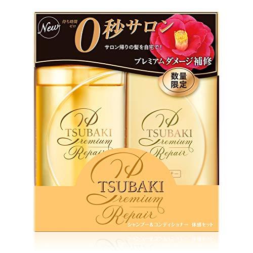 Shiseido Tsubaki Premium Repair Floral Fruity Shampoo and Conditioner Set (490ml/16.56oz) each