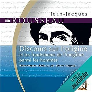 Couverture de Discours sur l'origine - et les fondements de l'inégalité parmi les hommes