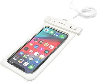 オウルテック iPhone 7/7Plusホームボタン対応 水に浮く 防水・防塵ケース ドライバッグ カメラ窓付き 海/釣り/お風呂 最高級保護レベルIP68取得 ネックストラップ付 ホワイト