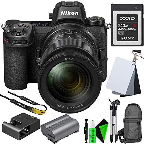 Review Of Nikon Z7 Mirrorless Digital Camera + 24-70mm Lens + 64GB Memory Card