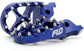 Flo Motorsports Blue Replacement for Husqvarna 125-501 Fc/fe/tc - Husaberg 390-550 Fe - Beta 50-525 Foot Pegs Fpeg-795blu