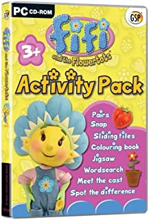 fifi and the flowertots activity pack (PC) (UK)