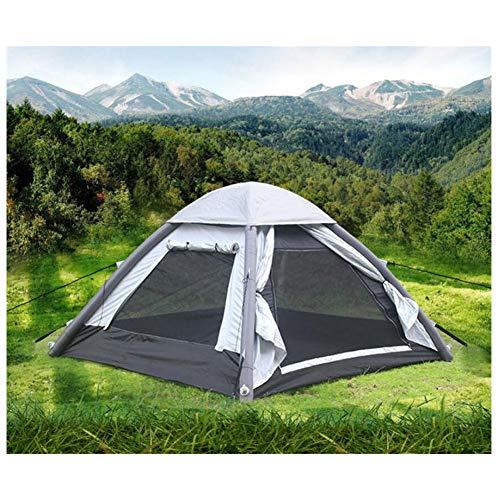 Spacious,Anti-UVZelt, Gratis-Baugeschwindigkeit aufblasbare Zelte 2 Person Windbreak Camping Wanderwege Zelte Sewn in Groundsheet,1,210 * 240cm