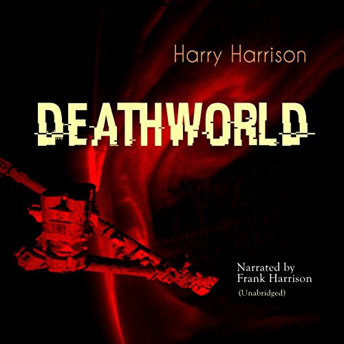 Deathworld audiobook cover art