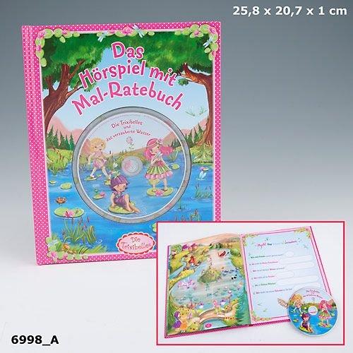 Trixibelles Hörspiel CD mit Mal Rätsel Buch