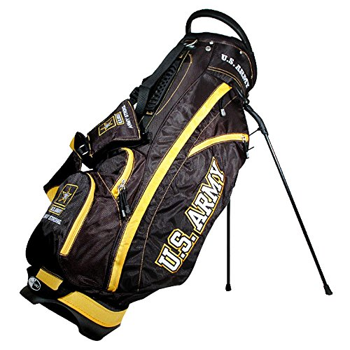 Cheapest Prices! Team Golf Military Air Force Fairway Golf Stand Bag, Lightweight, 14-Way Top, Sprin...