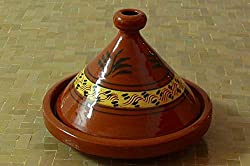Marokkanische Tajine zum Kochen Ø 40 cm f. 6-8 Personen
