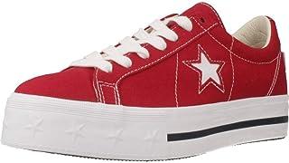 Calzado Deportivo para Mujer, Color Rojo, Marca CONVERSE, Modelo Calzado Deportivo para Mujer CONVERSE One Star Platform O...