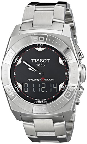 Tissot Herren-Armbanduhr Racing Touch Edelstahl T0025201105100