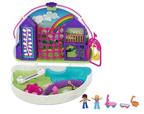 Polly Pocket- Cofanetto Borsetta dei Segreti Arcobaleno Polly Giocattolo per Bambini 4+Anni, GKJ65