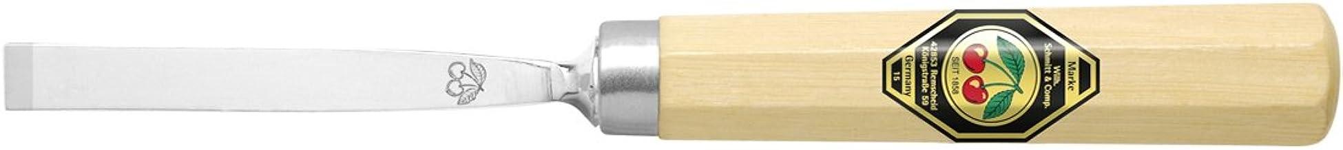 10 16 12 Kirschen 1107 Juego de 6 cinces con cuaderno de haya blanco oscuro y barnizado en caja de madera compuesto de 6 26 mm 20