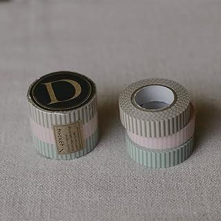 倉敷意匠計画室【Classiky】プ リントマスキングテープ 3色セット(ストライプ )45012-04