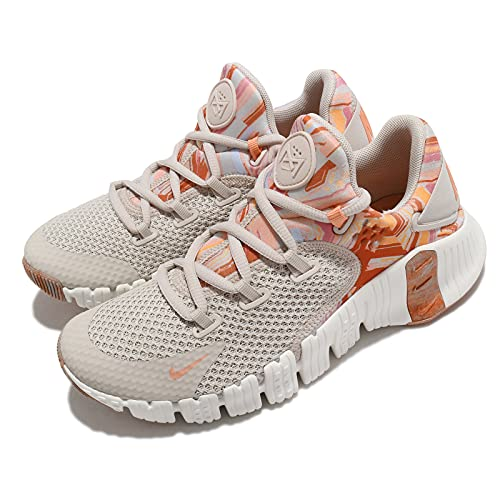 Nike Mujer Free Metcon 4 DJ3075-064, beige (Arena del desierto/cobre metálico/carmesí Bliss), 39 EU