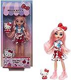 Hello Kitty con Éclair Muñeca con moda, mascota y accesorios de juguete (Mattel GWW96)