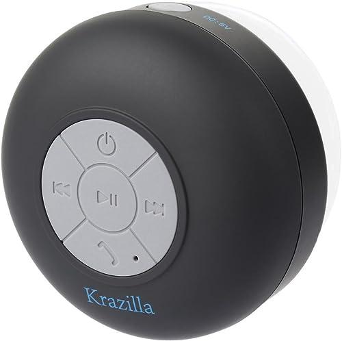 popular Krazilla Kzs1008 2021 Bk Black Splash Proof Bluetooth lowest Speaker online