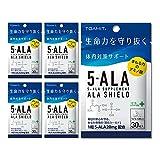 TOAMIT 東亜産業 5-ALAサプリメント アラシールド 30粒入 5-アミノレブリン酸 日本製 5セット