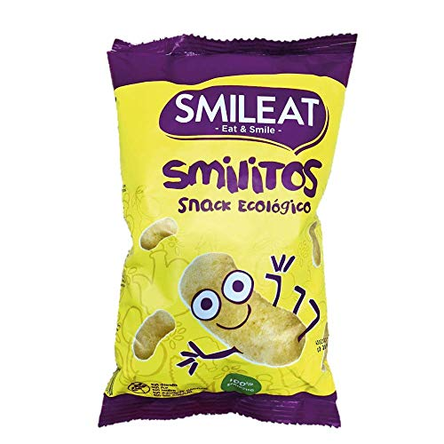 Smileat Gusanitos de Maíz Ecológico - Paquete de 15 x 38 g