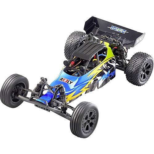 Reely Brushed 1:10 RC Modellauto Elektro Buggy Buzz 100% RTR 2,4 GHz inkl. Akku und Ladekabel