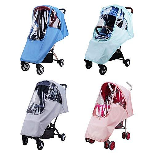Gm Baby Trolley Rain Cover - Paragüero para bebé, color verde