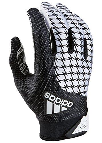 adidas adiFAST 2.0 Receiver American Football Handschuhe - weiß/schwarz Gr. L