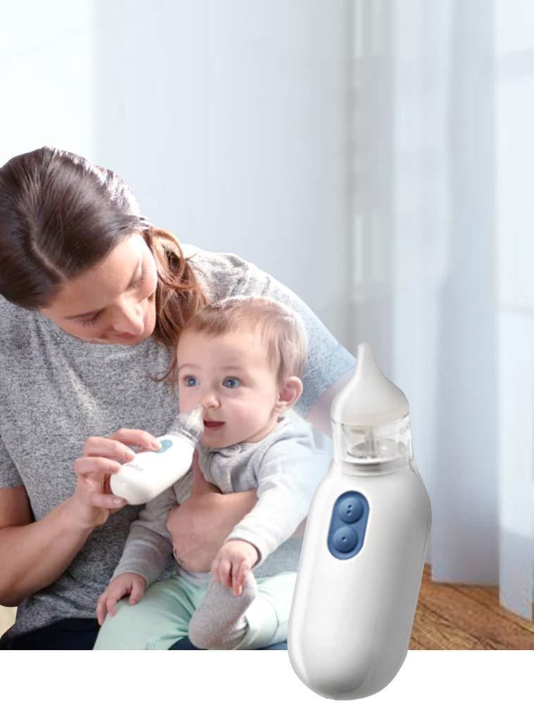 HS-ZM-01 Aspirador Nasal para bebés 2 Puntas Bebé recién Nacido ...