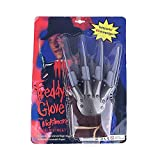 Leezo - Guantes de garras de Freddy Krueger, Lobezno, para Halloween