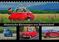 Historische Kleinwagen aus Deutschland (Tischkalender 2022 DIN A5 quer): Diese ganz Kleinen zaehlen zu den ganz Grossen (Monatskalender, 14 Seiten )