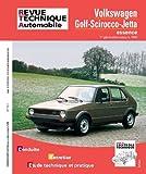 E.T.A.I - Revue Technique Automobile 731.1 - VOLKSWAGEN GOLF I/SCIROCCO/JETTA - 1981 à 1993