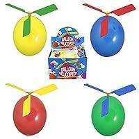 Der nächste Kindergeburtstag,Party oder Feier steht an? Dann haben wir den neuesten Trend für euch,den Luftballon mit Propeller zum Fliegen. .Den Propeller mit dem Ventil auf den aufgeblasenen Ballon stecken und fliegen lassen,wenn die Luft raus ist ...