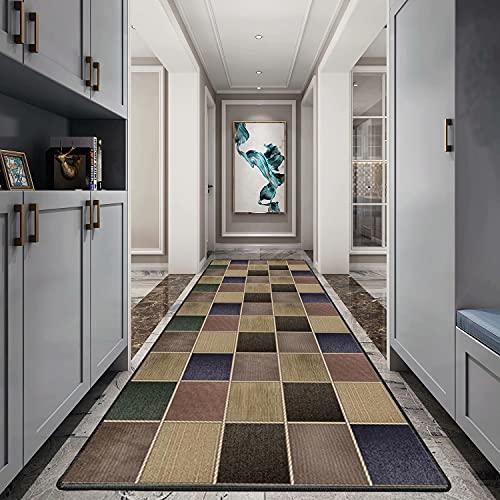 Carpet passatoia 120x200cm, Tappeti Cucina Moderni, in Microfibra Decorativo, Usato in Soggiorno Salotto Moderno.