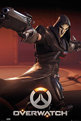 Preisvergleich Produktbild empireposter Overwatch-Reaper-Game Videospiel Poster-Grösse 61x91, 5 cm,  Papier,  bunt,  91.5 x 61 x 0.14 cm