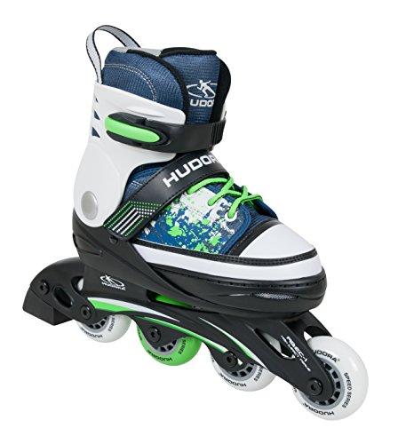 HUDORA Kinder Inline-Skates - Gr. 34 -37 ,blau - Inliner Kinder - 37337