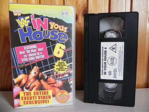 WWF - In Your House 6 [VHS] [UK Import]