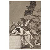JUNIWORDS Poster, Francisco José de Goya, Der Schlaf der