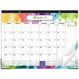 2021-2022 Desk Calendar - Large Desk Calendar, 22' x 17', July 2021 - Dec 2022, 18 Months Planning, Large Ruled Blocks, Desk/Wall Calendar for Planning and Organizing