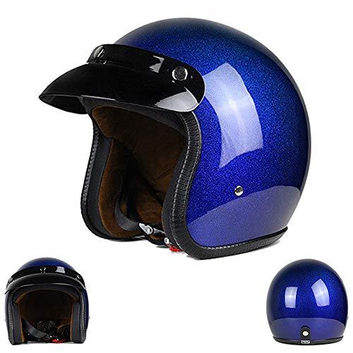 Protective equipment Herren- und Damenhelme, elektrische Motorräder Halbhelme, Retro-Motorräder Motorhauben Hip-Hop-Helme