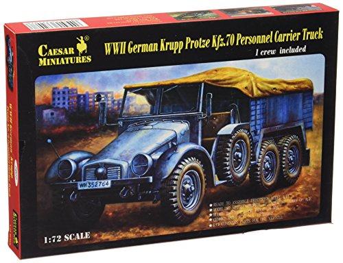 Maquette camion Krupp Protze Kfz.70 Cargo, 2ème GM