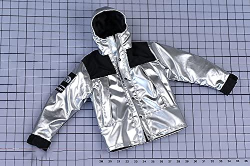 ZSMD 1/6 a escala para hombre, ropa exterior, chaqueta reflectante para 12 cm tb m32 m33, figura de soldado, abrigo