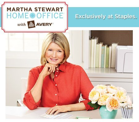 """Martha Stewart Home Office with Avery Vertical File Folder 2 Tabs 1/2-cut 6 Vertical File Folders, Assorted Colors - Orange, Red, Yellow, 9-1/8"""" X 12"""" 24520 Photo #3"""