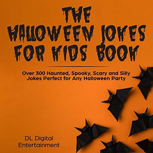 The Halloween Jokes for Kids Book cover art