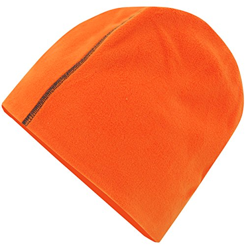 Helly Hansen Workwear Muts Minto Beanie met Polartec van polyester fleece, oranje, 79834