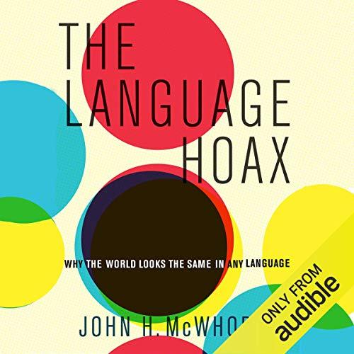 『The Language Hoax』のカバーアート