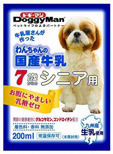 Doggyman(ドギーマンハヤシ)『わんちゃんの国産牛乳 7歳からのシニア用』