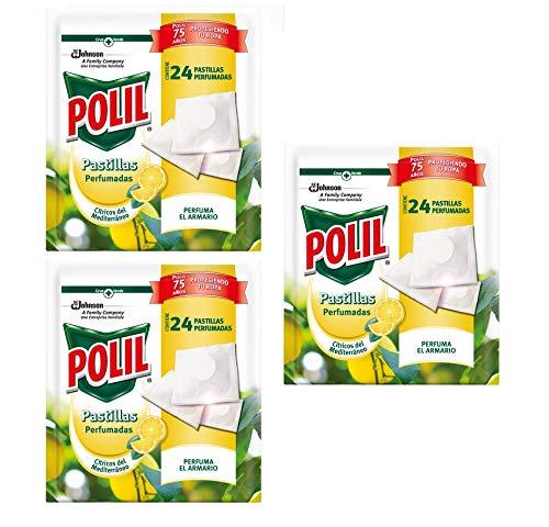 Polil® Pastillas Perfumadas Antipolillas con Aroma Cítrico