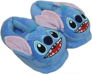Chaussures Stitch Plush Warm Shoes Stitch avec des Pantoufles en Coton