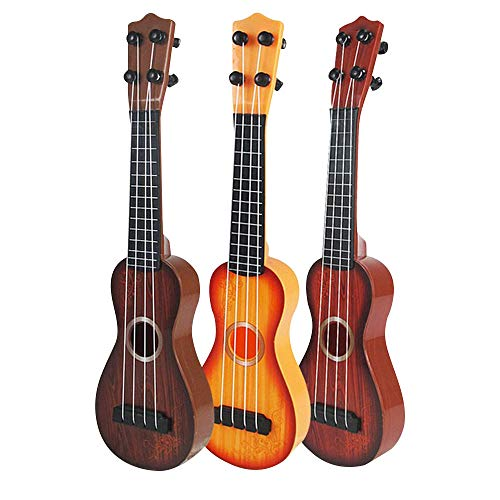 lulalula Kids Guitar Toy, 4 Strings Simulation Mini Guitar Children...