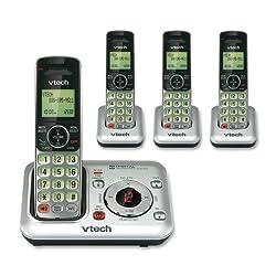 Image of VTech CS6429-4 4-Handset...: Bestviewsreviews
